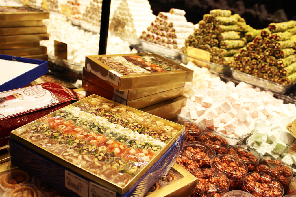 Turkish Delight best traditional desserts around the world Turkey