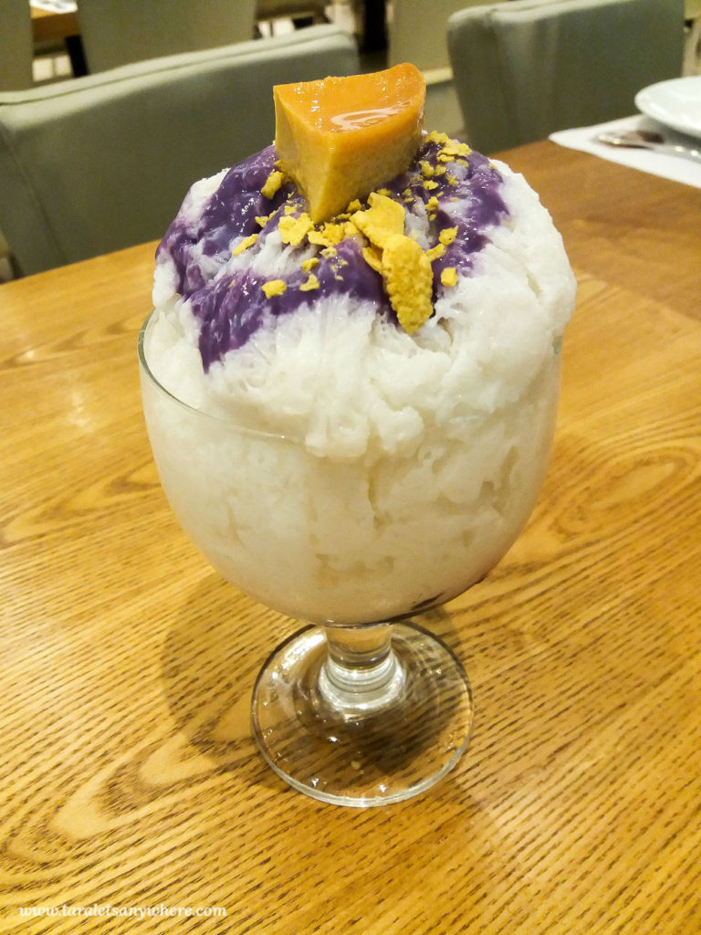 halo halo traditional dessert Philippines