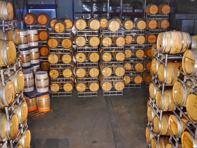 Sandalford estate Swan Valley Australia wine barrels