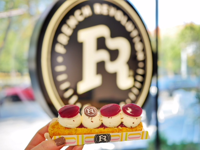 French Revolution Bucharest forest fruits eclair