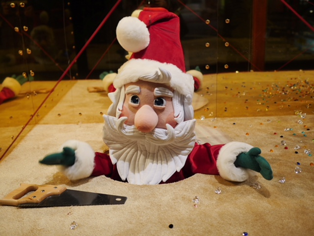 Harrods Santa 2017 Christmas Window