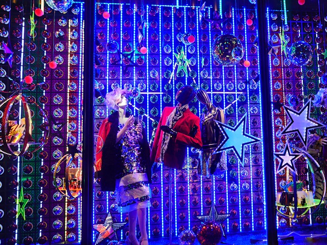 Harvey Nichols Christmas Window 2017