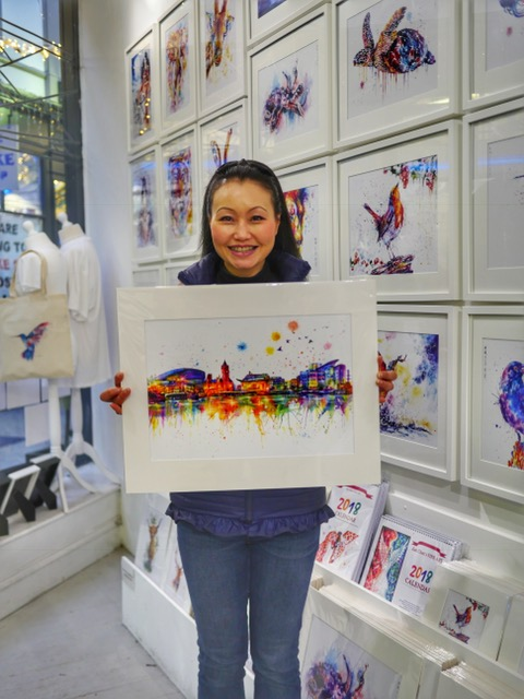 Jian Chen's FINE ART Duke Street Arcade