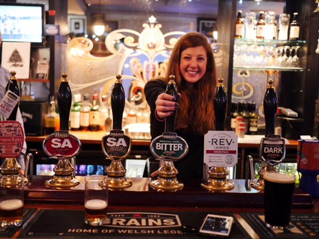 Old Arcade Brains Pub Cardiff