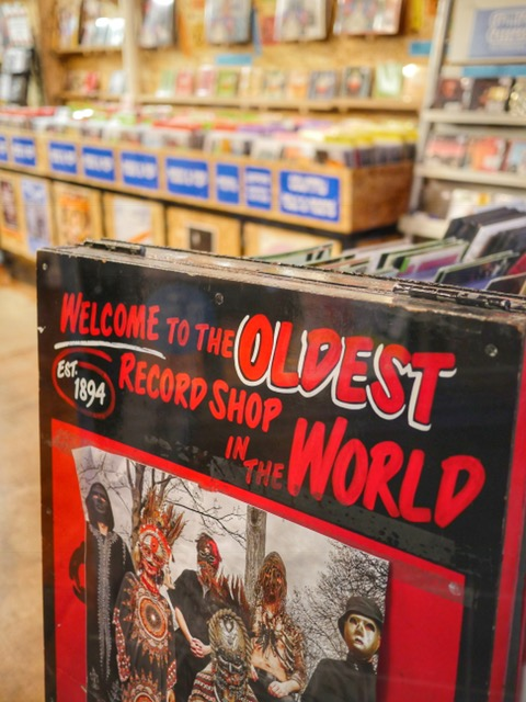 Spiller Records oldest record store in the world