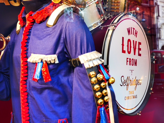 With love from Selfridges 2017 Christmas Window