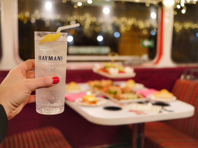 Gin Lovers Afternoon Tea Bus Tour gin and tonic London