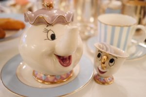 Tale as Old as Time Tea London Mrs Potts and Chip