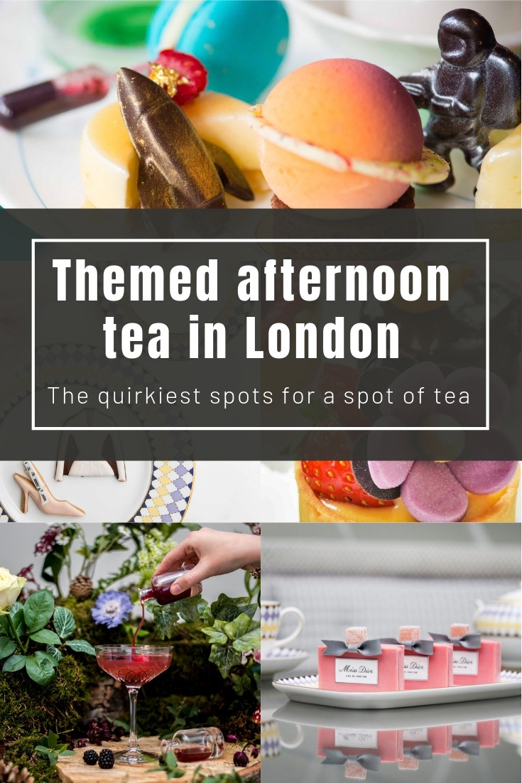 The most quirky afternoon tea London has to offer: Top spots for a spot of tea