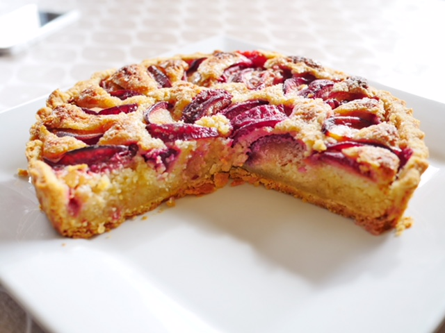 Vera's perfect plum and almond tart: a taste of Munster Vales Ireland