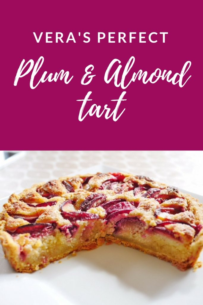 best plum and almond tart