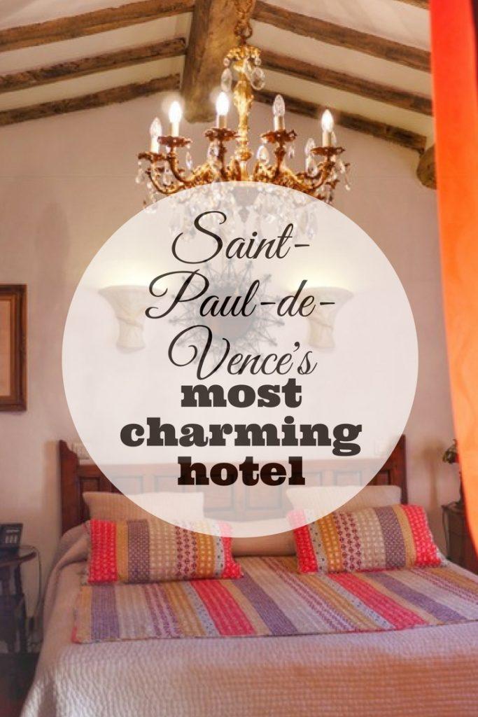 St Paul de Vence Hotel Le Hameau