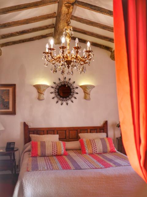 St. Paul de Vence Hotel Le Hameau two room suite