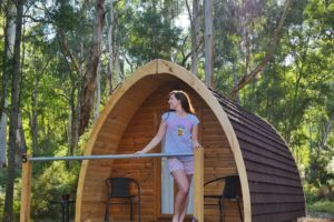 Glamping in the Yarra Valley