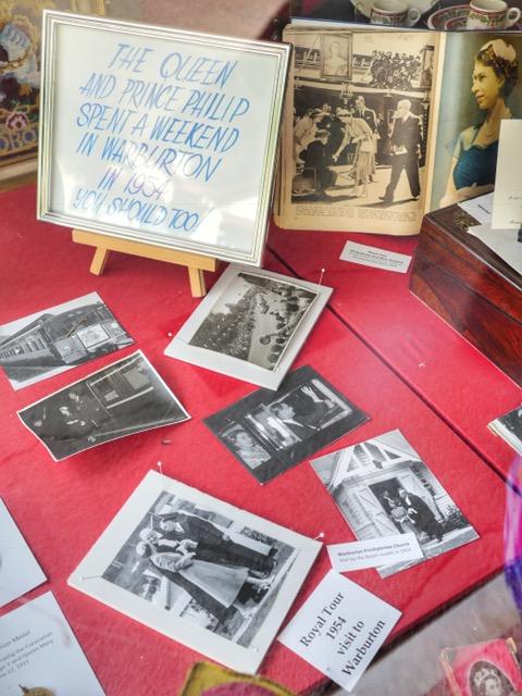 Warburton Queen Elizabeth's visit