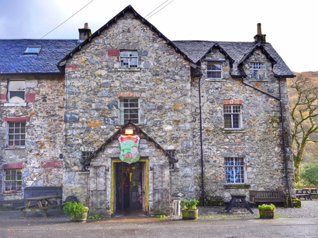 Drovers Inn haunted hotel in Scotland