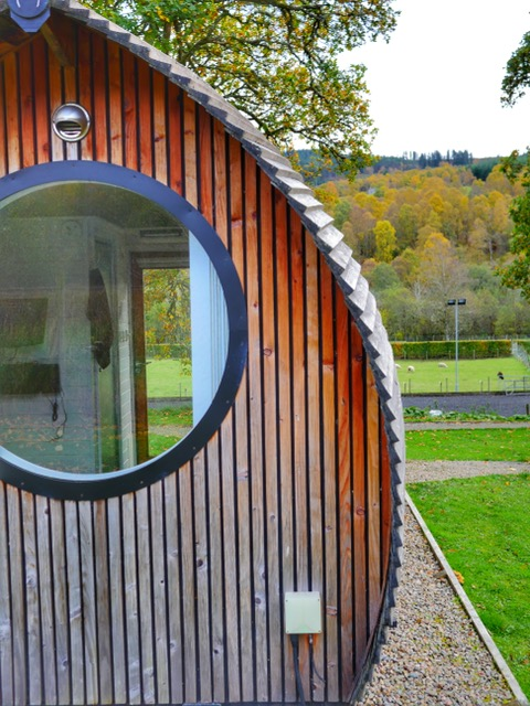 Glamping at Loch Ness ensuite pod