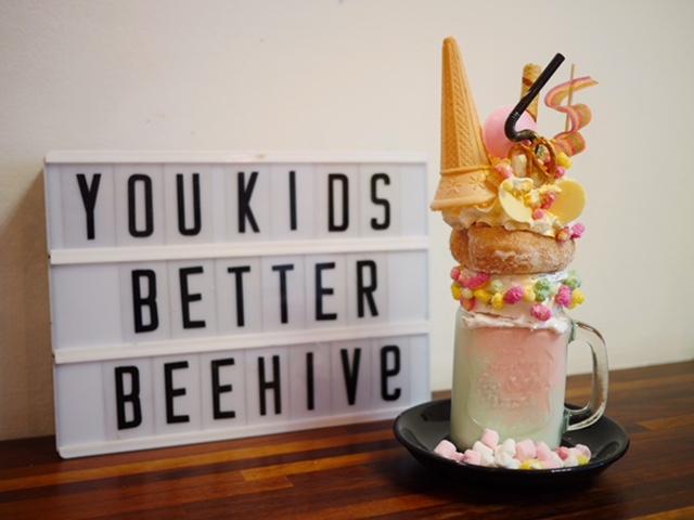 The Beehive Coffee House Freakshakes in Bristol