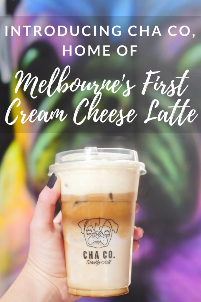 Cha Co: home of Melbourne's first cream cheese latte