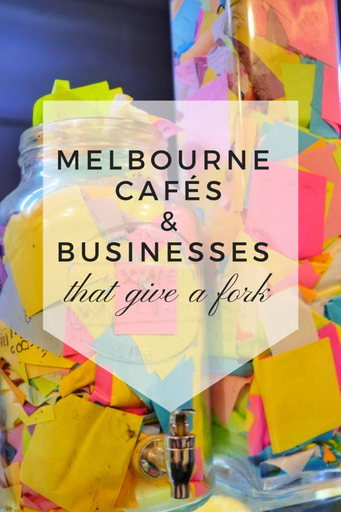 Melbourne cafés and businesses making the world a better place