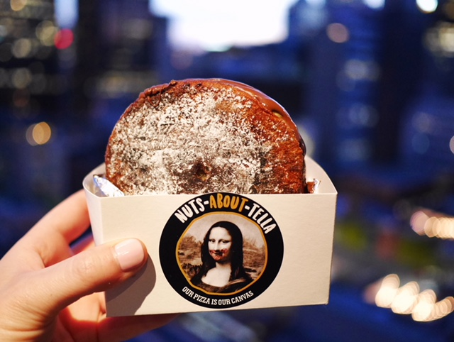 Nuts About Tella Nutella Doughnut Sandwich