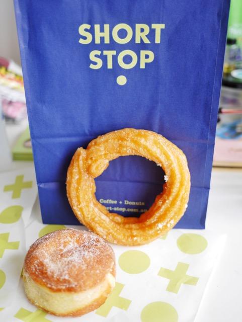 Short Stop Australian Honey and Sea Salt Donut