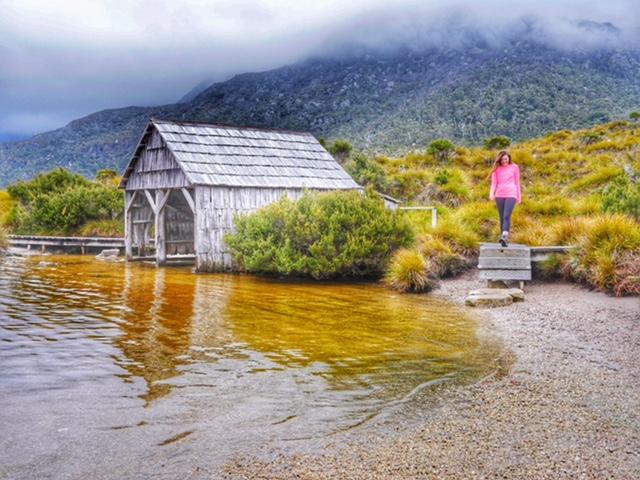 Boatshed at Dove Lake Cradle Mountain
