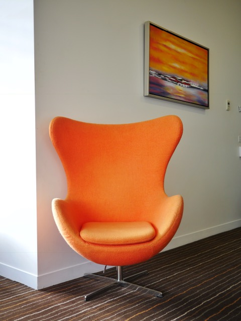 Mantra Charles Hotel Launceston Jetsons chair