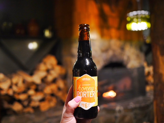 Relax in the Devil's Lounge at Peppers Cradle Mountain Lodge