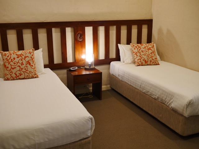 Seashells Broome twin bedroom