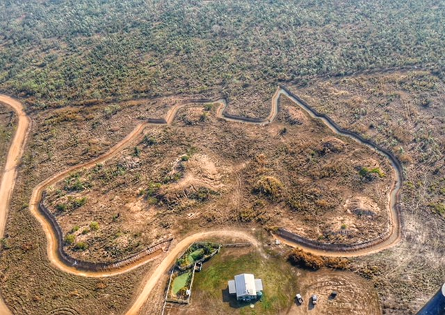 Aerial view of Australia moat Darwin from Outback Floatplanes