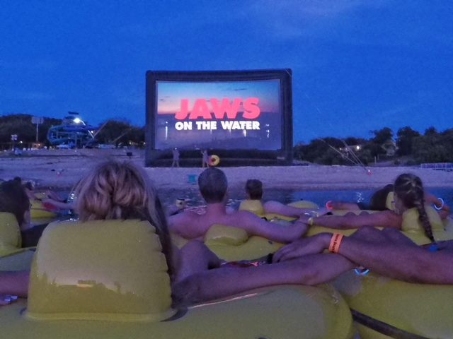 Alamo Drafthouse Jaws on the Water Austin Texas