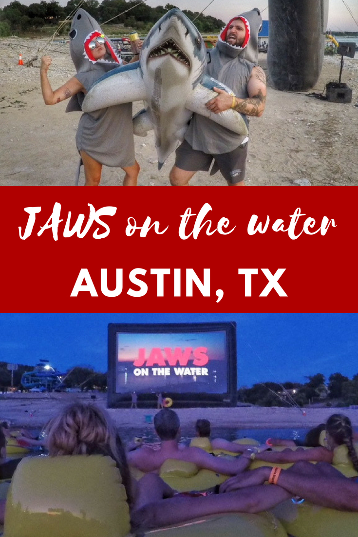 Alamo Drafthouse's JAWS on the Water in Austin Texas