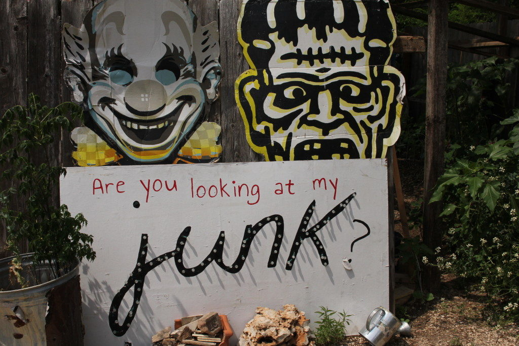 Cathedral of Junk in Austin Texas