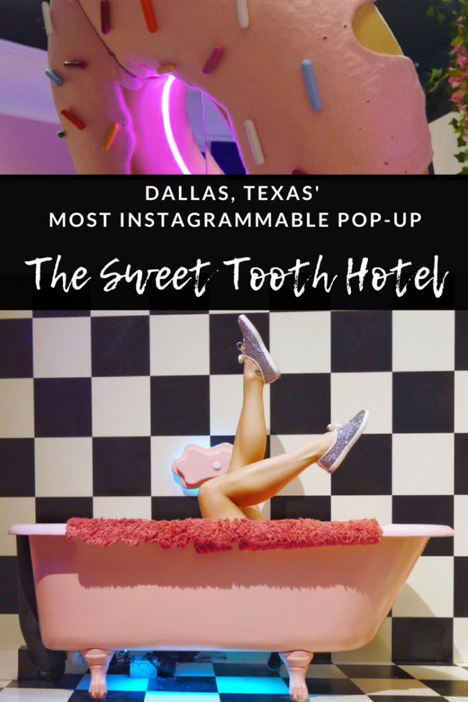 Dallas' most Instagrammable pop up - Sweet Tooth Hotel
