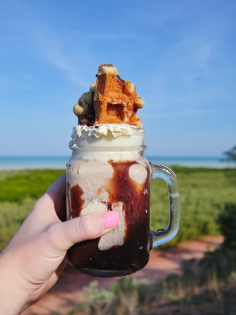Freakshake at Mangrove Hotel in Broome