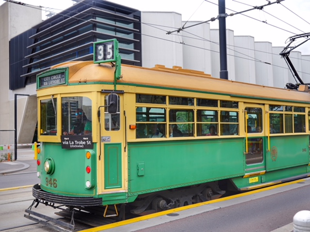 Free City Loop tram Melbourne CBD