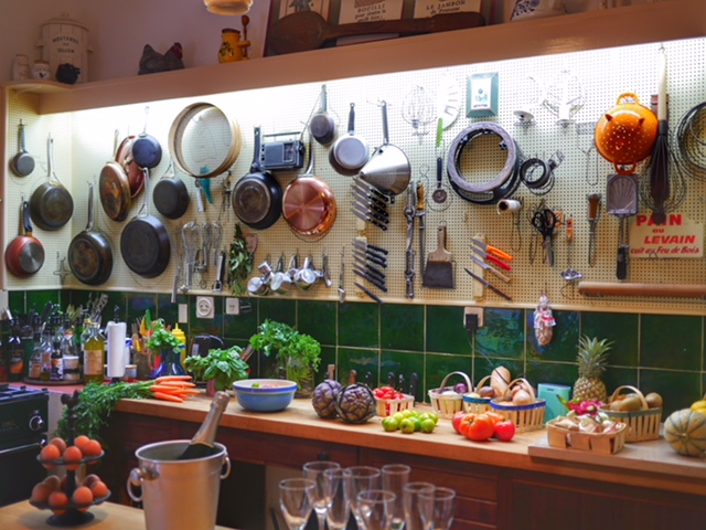 Julia Child's kitchen at La Peetch