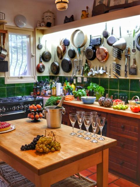 Julia Child's kitchen at La Pitchoune