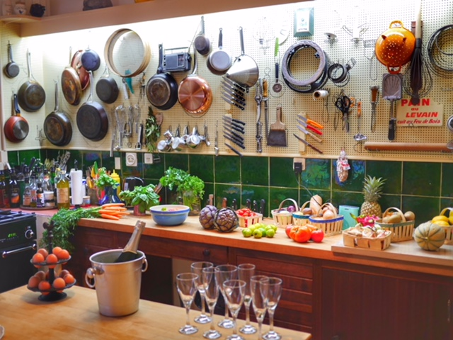 La Peetch Julia Child's kitchen