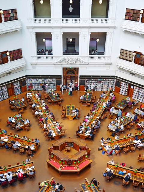 Reading Dome - State Library of Victoria Melbourne