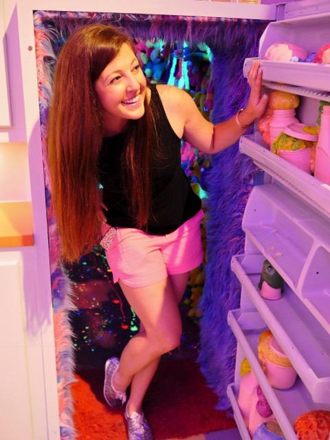 Sweet Tooth Hotel fridge