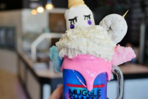 Denton Texas Muggle Shake at YogurtBliss
