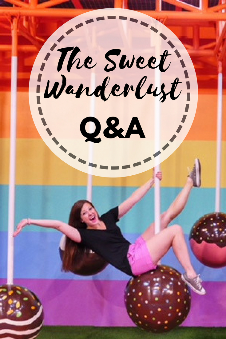 The Sweet Wanderlust Q&A