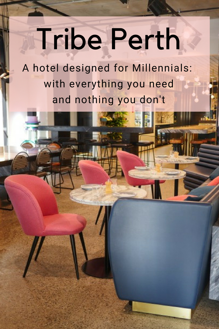 Tribe Perth: a hotel for Millennials