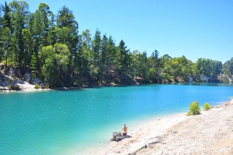 black diamond lake