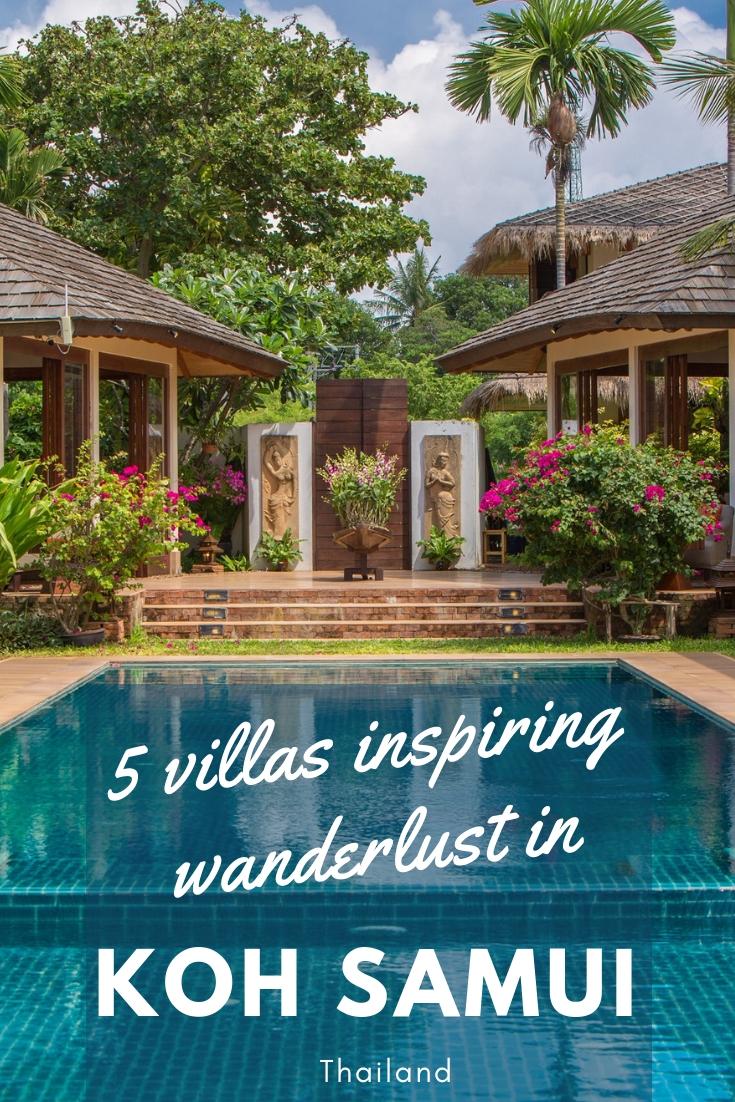 5 villas inspiring wanderlust in Koh Samui