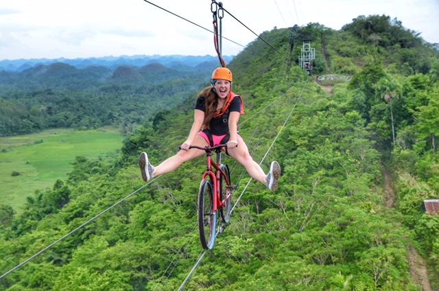 BetterMan Tours - Bohol Day Tour - Chocolate Hills Adventure Park bike