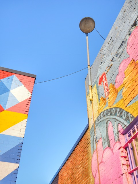 Deep Ellum Murals in Dallas TX