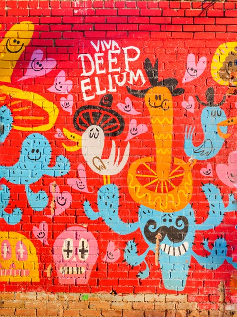 Deep Ellum Murals in Dallas Texas Viva Deep Ellum